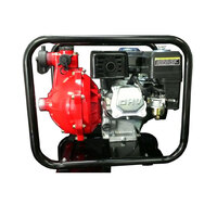 NEW SERIES 7.0HP 110M TWIN ALUMINIUM IMPELLER FIRE FIGHTING WATER PUMP TANK