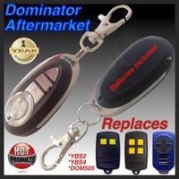 1X DOMINATOR Aftermarket Garage Remote Control YBS2 YBS4 DOM501 DOM502 DOM505 !!