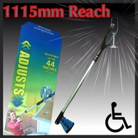 "44"" Reaching Pick Up Tool Aid Hand Grabber Reacher Clean Litter Picker Disabled"