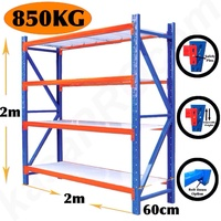 NEW 800KG STEEL GARAGE WAREHOUSE SHELVING Storage Racking Metal tyre rack stand