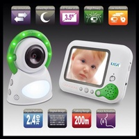 "NEW Genuine KASA 3.5"" COLOUR LCD SECURE 2.4GHz DIGITAL BABY MONITOR"