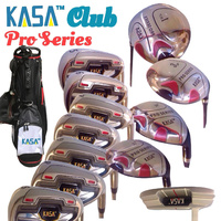KASA PRO CLUB USA 12PC MEN'S RH GRAPHITE GOLF SET W/BAG PUTTER PREMIUM VALUE SET