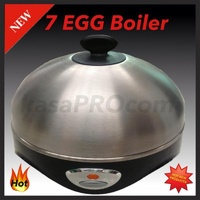 AUTOMATIC  STAINLESS STEEL 7 EGG BOILER creates PERFECT Eggs