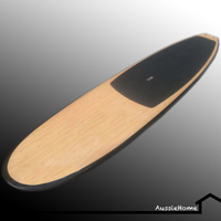 11.0' BAMBOO SUP STAND UP PADDLE BOARD WITH EXTRAS