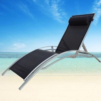 OUTDOOR INDOOR SUN LOUNGE BED POOL GARDEN DECK PATIO LOUNGE RECLINER CHAIR