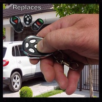 AFTERMARKET REMOTE CONTROL FOR SMART LIFTER ROLLER DISC NANO GARAGE DOOR OPENERS