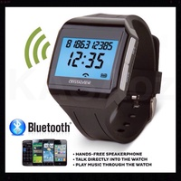GENUINE DIGITAL WIRELESS BLUETOOTH MOBILE PHONE SMART WATCH WITH VOICE DIALLING