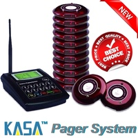 GENUINE KASA 10 WIRELESS DIGITAL PAGER GUEST PAGING SYSTEM