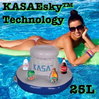25L KASAEsky TECHNOLOGY INFLATABLE FLOATING DRINKS COOLER