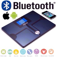 WIRELESS BLUETOOTH DIGITAL SCALES BODY ANALYSIS FOR APPLE ANDROID IOS SMARTPHONE