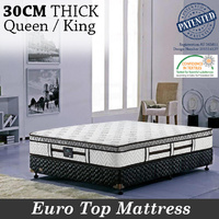Genuine KASA™ Dream Queen/King size, Pocket Spring Mattress with Euro Top
