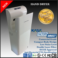 AUTOMATIC HAND DRYER, WHITE, COMMERCIAL GRADE BATHROOM, RESTROOM, TOILET