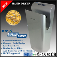 AUTOMATIC HAND DRYER, SILVER, COMMERCIAL GRADE BATHROOM, RESTROOM, TOILET