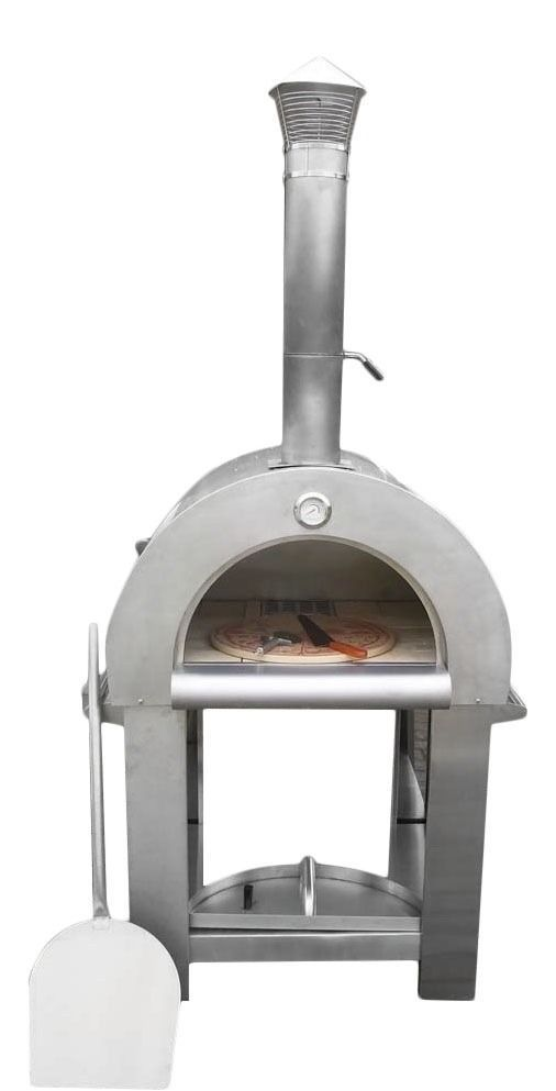 Portable Wood Fired Pizza Oven - Stainless Steel Pizza Oven | KASA ...
