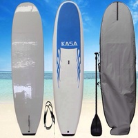 NEW 11' STAND UP PADDLE BOARD SOFT SUP SURFBOARD LONGBOARD FREE CARRY BAG PADDLE