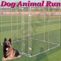 4m x 4m x 1.83m PET ENCLOSURE DOG KENNEL PET RUN ANIMAL FENCING CAGE FENCE XXL