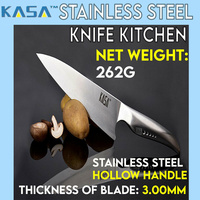 "Kasa Kitchen Knife Stainless Steel 8"" Chef Knife Modern Sharp Cutting Tool"