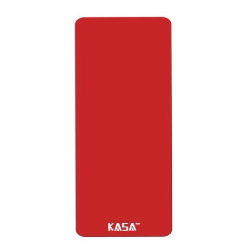 NEW 25mm EXTRA THICK 1830 x 610mm YOGA MAT PILATES GYM FITNESS PHYSIO NON SLIP [Colour: RED 1830 x 610mm with FREE Carry Bag]
